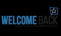 Welcome Back Customer Logo