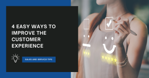 Article - 4 Easy ways to improve the customer experience